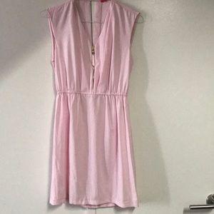 Cute pink summer dress Elva first